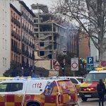 Madrid'de bir binada şiddetli patlama