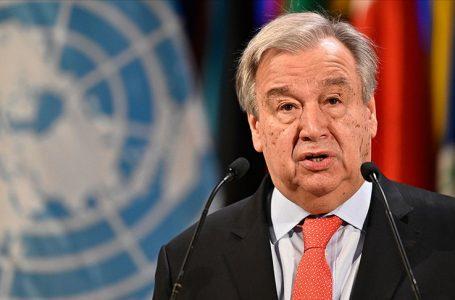 Guterres BM Genel Sekreterliğine 2. kez adaylığını açıkladı
