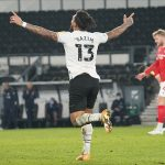 Derby Countyli futbolcu Kazım Kazım sosyal medyada