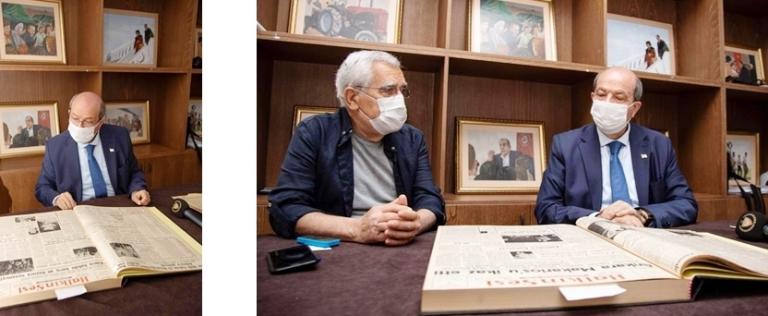 Cumhurbaşkanı Tatar: Dr. Fazıl Küçük kırmızı çizgimizdir