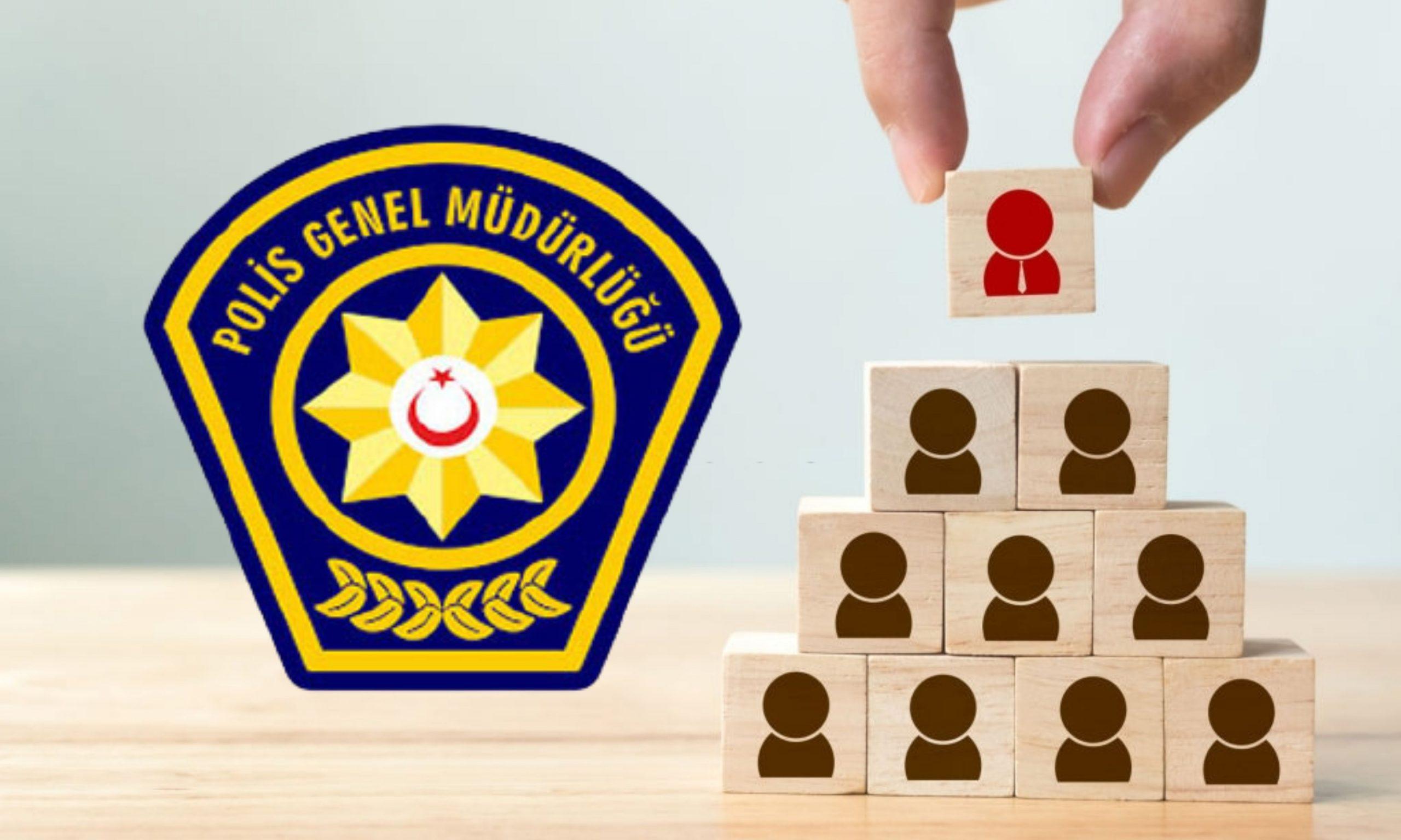 Polis Örgütü'nde 45 personel bir üst rütbeye terfi ettirildi