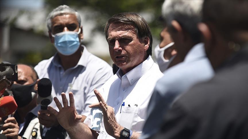 Brezilya Devlet Başkanı Bolsonaro