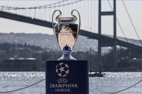 UEFA Şampiyonlar Ligi Kupası İstanbul Boğazı'yla buluştu