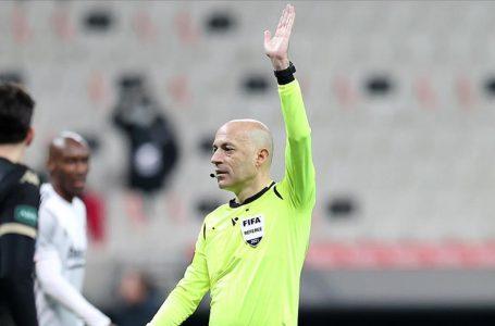Cüneyt Çakır UEFA Avrupa Ligi'nde Slavia Prag-Arsenal maçını yönetecek