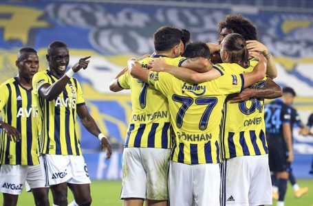 Fenerbahçe Trabzonspor'u 3 golle geçti