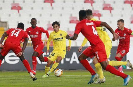 Demir Grup Sivasspor Avrupa Ligi'nde mağlup