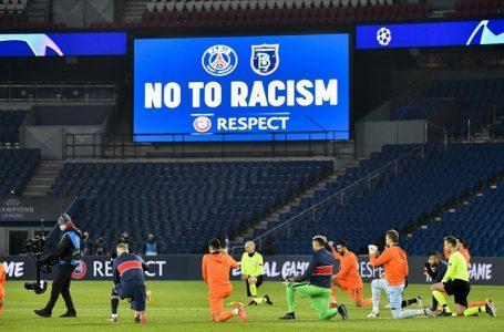 PSG-Medipol Başakşehir maçı kaldığı yerden başladı