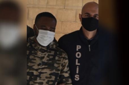 Hırsızlıktan tutuklandı, kaçak olduğu anlaşıldı