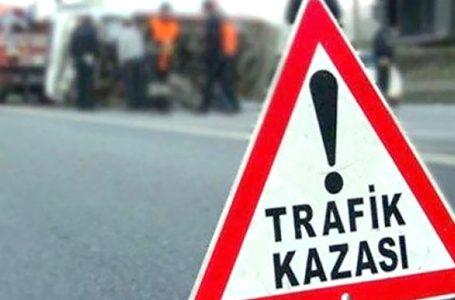 Lefkoşa'da direksiyon hakimiyetini kaybeden sürücü yaralandı