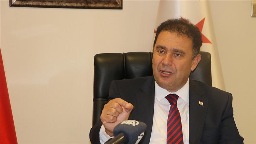 KKTC Başbakanı Saner