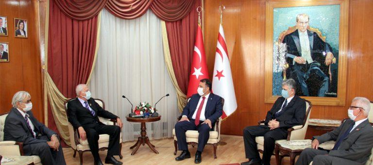 Başbakan Ersan Saner