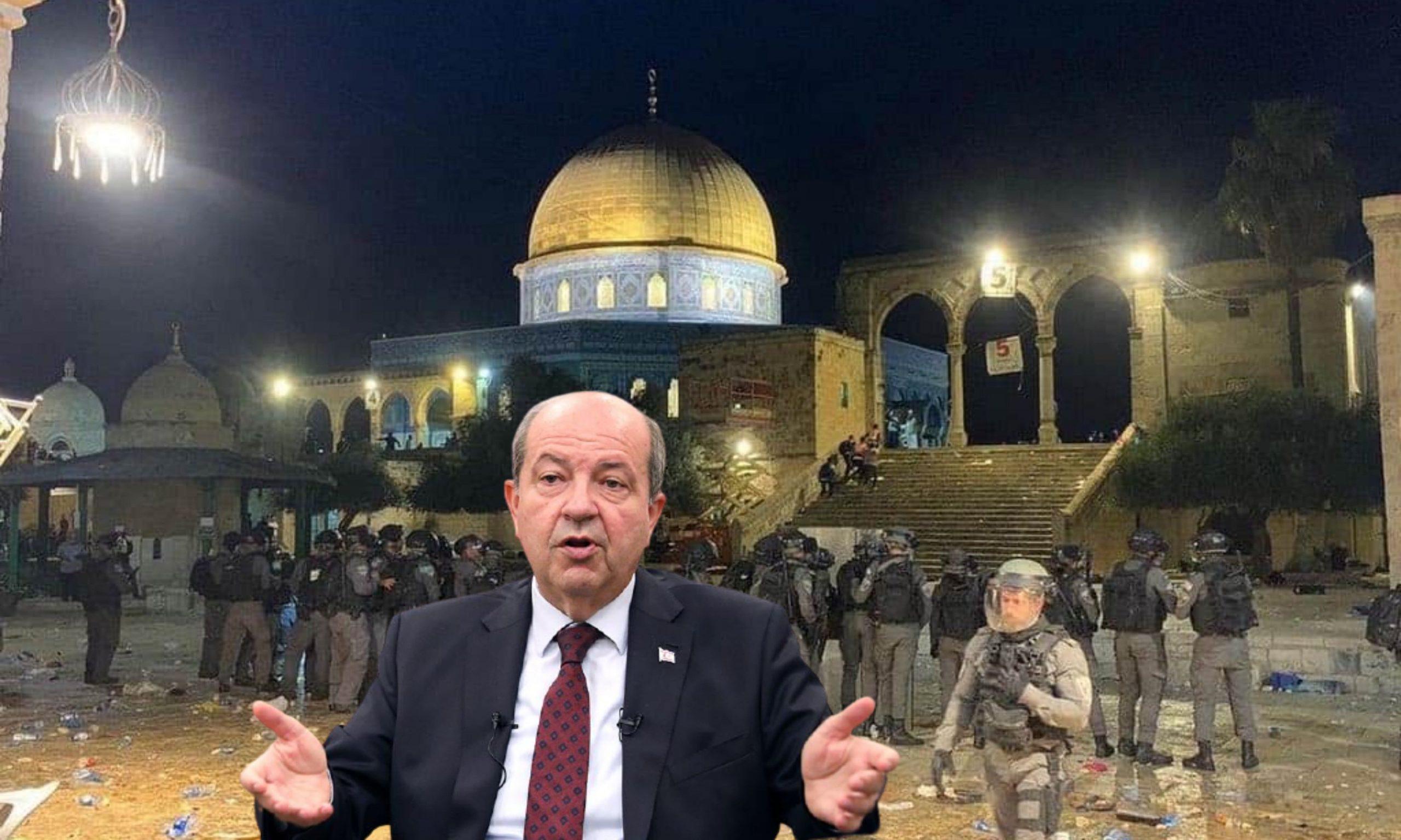 Cumhurbaşkanı Tatar Mescid-i Aksa'ya yönelik yapılan saldırıları kınadı