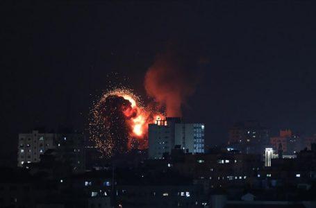 İsrail, Gazze'ye hava saldırılarına yeniden başladı