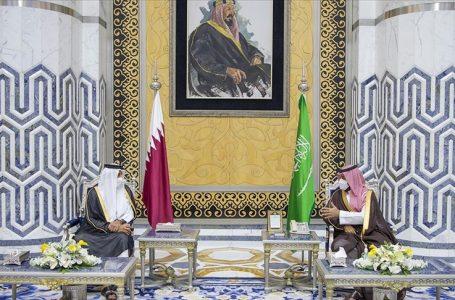 Katar Emiri Şeyh Temim bin Hamed Al Sani, Suudi Arabistan'ı ziyaret etti