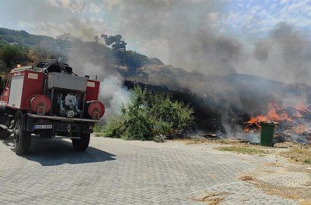 Esentepe ve Alayköy'de yangın